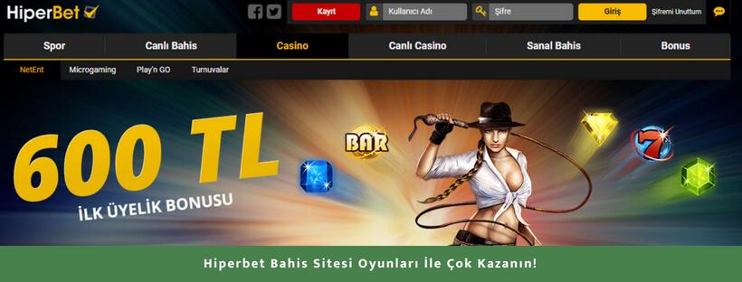 Hiperbet Bahis Sitesi Oyunları İle Çok Kazanın!