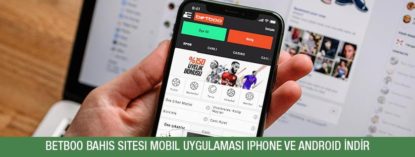 betboo mobil uygulaması