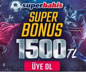 Süperbahis 1500 TL bonus